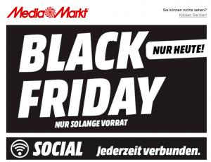 MediaMarkt Black Friday 2017 Angebot