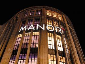 Der grösste Warenhauskonzern der Schweiz führte 2015 den Black Friday bei sich ein.