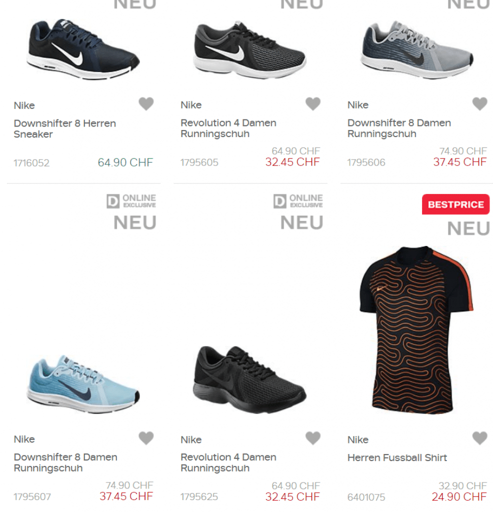 Kaufen > nike schuhe damen dosenbach weiß > Rabatte