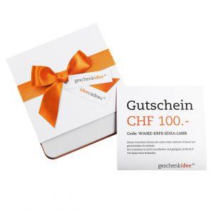 Geschenk Gutschein Geschenkidee