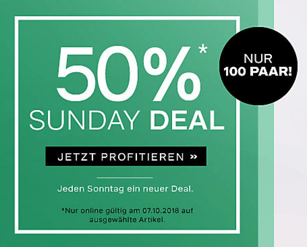 50% auf Adidas bei Dosenbach (nur 100 Paar – Sunday Deal