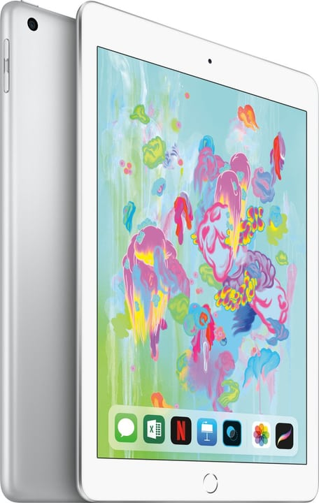 apple ipad 2018 wi fi 128gb alle farben bei. Black Bedroom Furniture Sets. Home Design Ideas