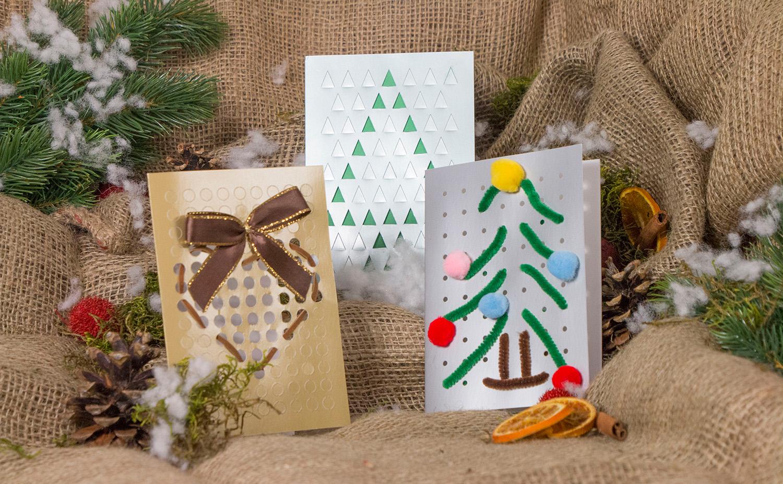 gratis weihnachtskarten set bei der post preispirat. Black Bedroom Furniture Sets. Home Design Ideas