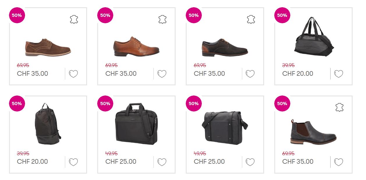 50 70% auf alles im Vögele Shoes Sale – Preispirat