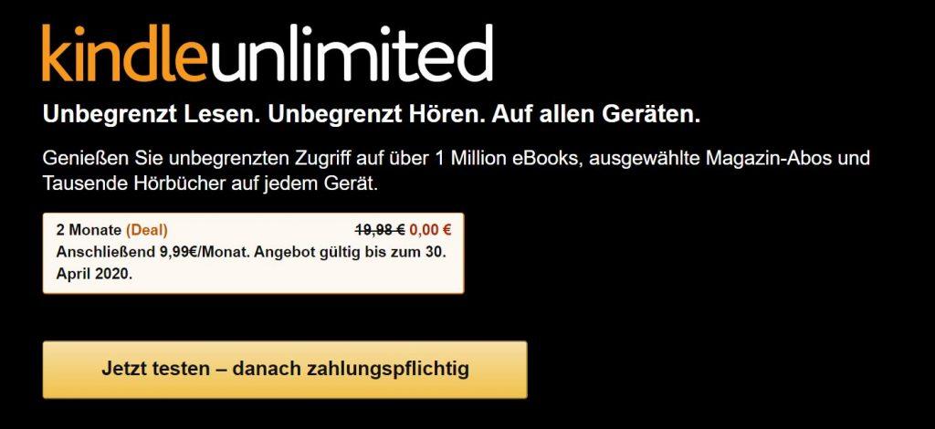 Kindle Unlimited KГјndigen