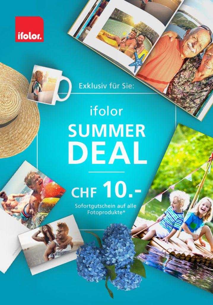 CHF 10.- Rabatt auf alle Fotoprodukte bei ifolor - Preispirat