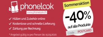 Phonelook 40% Rabatte auf alle Produkte