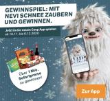 Super Gewinnspiel: mit Nevi Schnee zaubern und gewinnen (Coop APP)