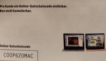 CHF 100 Rabatt auf MacBook Pro und MacBook Air bei Microspot