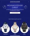 Adventskalender bei Christ Uhren & Schmock