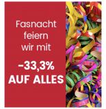 33,3% auf alles außer Technik bei Ackermann.ch