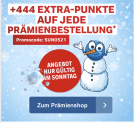 Coop Supercard Prämienshop: 444 Extra-Superpunkten auf jede Prämienbestellung