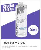 """Gratis RedBull """"White Edition"""" bei McDonalds"""