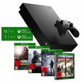 Xbox One X, Metro Saga Bundle + The Division 2 oder Fallout 76 bei amazon.de