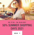OFFLINE Chicorée 50% SUMMER SHOPPING DAYS 2021 / 27.05. – 29.05.