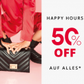 Happy Hour bei Vögele Shoes: 50% auf alles