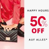 Happy Hour bei Vögele Shoes: 50% auf alles