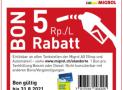 Migrol: 5 Rp./L Rabatt beim Benzin- oder Dieselbezug
