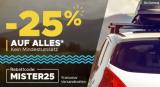 Mister-Auto 25% Rabatt auf Alles (Autoteile)
