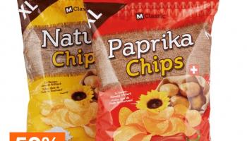 50% auf M-Classic Chips bei Migros