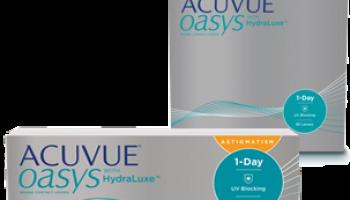 Acuvue Oasys 1-Day: Gratis Packung mit 5 Probelinsen