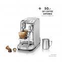 Nespressomaschine Sage Creatista Pro + gratis Nespresso-Kapseln im Wert von 50 Franken bei Manor