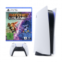 Sony PS5 inkl. 2. Controller & Ratchet + Clank bei melectronics