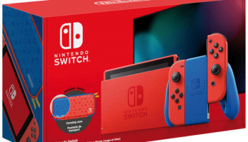 NINTENDO Switch V2, Mario Red & Blue Edition bei Fust