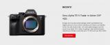 Sony Alpha 7R IV – Hammer Trade In Aktion bei Interdiscount – Alta Kamera abgeben und 400.- CHF sparen