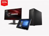 20% Rabatt auf ausgewählte Asus Produkte –  Monitore/Laptops/PCs zu tiefen Preisen!