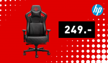 HP OMEN Citadel Gaming Stuhl Schwarz/Rot
