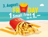 McDonalds Sommerhits: Heute Friesday