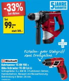 EINHELL Bohrhammer + Akkuschrauber für 99.- bei Jumbo