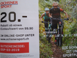 Ochsner Sport – CHF 20.- Rabatt ab CHF 100.-