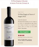 Bolgheri Il Seggio 2016 zum besten Preis der Schweiz