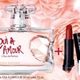 Parfum Oui à l'amour bei Yves Rocher von CHF 60.- auf CHF 37.90 reduziert plus gratis Lippenstift