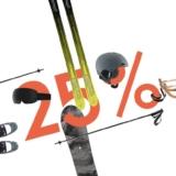 25% auf alles zum Wintersport bei Galaxus, z.B. Skibrille Anon Relapse für CHF 74.25 statt CHF 99.-
