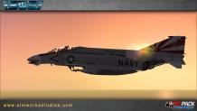 Simworks Studios – SWS F-4B/N PHANTOM II für Flight Simulator X (FSX, FSX SE) und Prepar3D (P3Dv2, P3Dv3, P3Dv4)