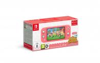 Nintendo Switch Lite Animal Crossing Bundle in Pink bei Mediamarkt