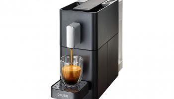 Nur heute – Kaffeemaschinen-Set Delizio Carina bei Daydeal