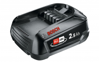 Bosch Akku 18V 2,5 Ah zum Bestpreis