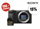 Sony Alpha 6600 Body, 15% Rabatt und 150.– Cashback