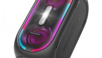 Portabler Blutooth-Speaker Anker Soundcore Rave mit 160W Leistung, IPX5 und Partybeleuchtung bei microspot
