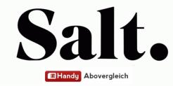 Salt Smart Swiss für CHF 29.95 / Monat (Lebenslänglicher Rabatt) + CHF 55.- Cashback + 3 Monate Gratis