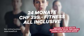 [Lokal] basefit.ch 24 Monate für CHF 399.- Fitness All Inclusive