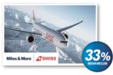 Leert euer SUPERCARD Konto ! **33%** mehr Miles and More Meilen (Swiss)