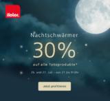 30% Spezialrabatt auf alle Fotoprodukte bei ifolor