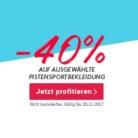 Nur heute: 40% auf ausgewählte Pistensportbekleidung bei siroop, z.B. Colmar Golden Eagle Skijacke ab CHF 281.40 statt CHF 469.-