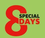 8 Special Days bei Manor mit zahlreichen Angeboten (Angebot verlängert bis heute)