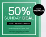 -50% auf Adidas bei Dosenbach (nur 100 Paar – Sunday Deal)